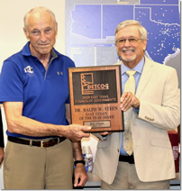 Bill Elliott receives the 2020 Ralph W. Steen Memorial East Texan of the Year Award