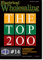 EES moves into the Top 15 ranked distributor in the nation, at #14 according to Electrical Wholesaling