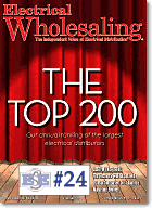 Electrical Wholesaling June 2009 Cover, Top 200