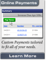 Make online payments at Elliott Electric Supply. Custom Payments, flat amounts, payment scheduling, and more.