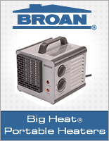 Broan Big Heat, Efficient, Portable Heater.