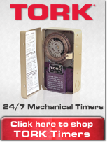 NSi Tork Mechancial 24 Hour Time Clocks, Timers