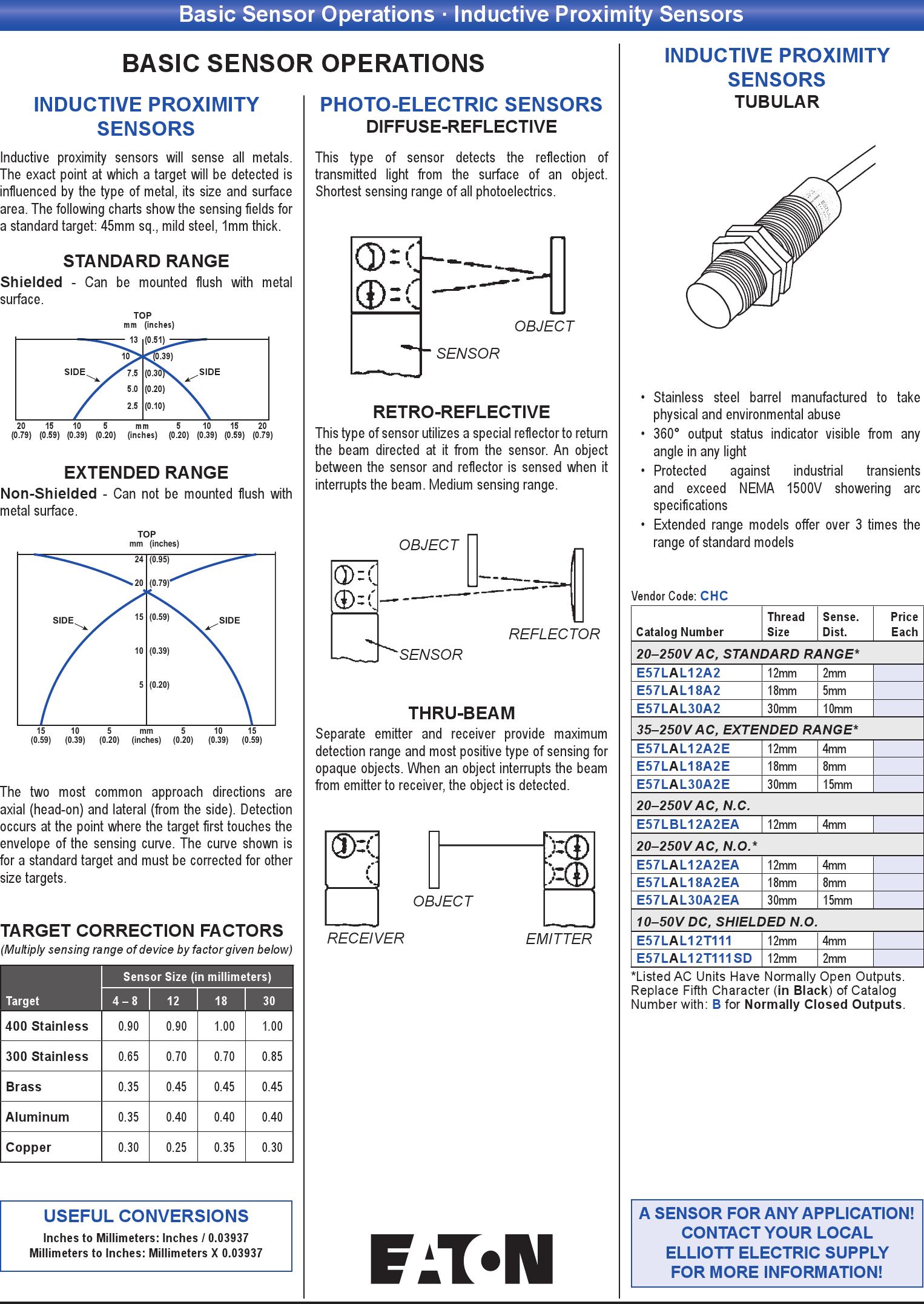 Basic Sensor Operations Inductive Proximity Sensors Print Add Item To Cart