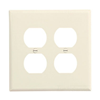 PJ82LA - 2G Mid Dup Wallplate - Cooper Wiring Devices