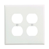 PJ82W - 2G Mid Dup Wallplate - Cooper Wiring Devices