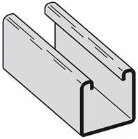 B24GALV10 14G 1-5/8 Solid 10' Galv