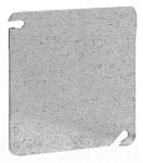 "TP472 - 4"" SQ Flat Blank Cover - Cooper Crouse-Hinds"