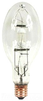 MVR400U - 400W ED37 Metal Halide Clear Mogul Base Lamp - G.E. Lighting (Lampblst)