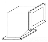 F88WE90 - Jic 90D Wireway Ell - Hoffman Enclosures, Inc.