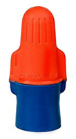 0B+BULK - Orange/Blue Wire Connector(500/Jug) - Minnesota Mining (3M)