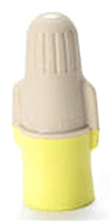 TY+JUG - Tan/Yellow Wire Connector (500/Jug) - Minnesota Mining (3M)