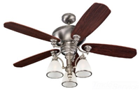 15068B965 - Ceiling Fan Antique Brushed - Sea Gull Lighting Prod.