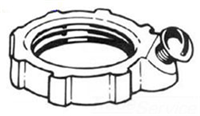 LG402 - 3/4 Mall GRND Locknut - Thomas & Betts