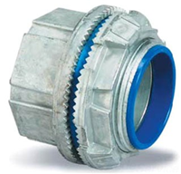 "H075A - 3/4"" Insulated Aluminum Hub Connector - Thomas & Betts"