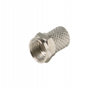 200039 - F Twist Plug RG6 Connector - Steren Electronics Intl