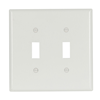 2039W - 2G Mid Size Switch Plate - Eaton Wiring Devices
