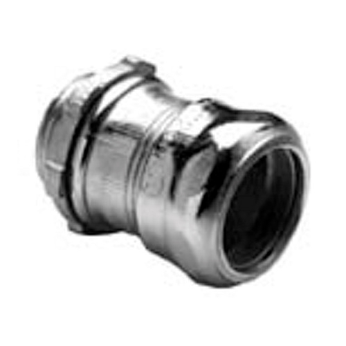 "254I - 1-1/2"" Ins Steel Emt Compression Connector - Bridgeport"