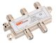 323022BU - 4-Way Coax Splitter - Waldom Electronics CO.