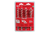 48130400 - 4PC Wood Bit Set - Milwaukee Electric Tool