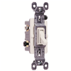 663WG - 3W 15A Tog Switch - Pass & Seymour/Legrand
