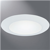 "70PSELL - 6"" Trim Wet Location and Air-Tite Listed White Tri - Eaton Lighting"