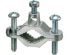 "720Z - Ground Clamp Zinc Plated 1/2"""" to 1"""" Pipe - Arlington Industries"