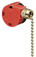 774034 - 3-Speed Pull Chain Switch, SPTT, F-O-O-O, Push-In,  - Ideal