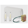 BK125LWH - One 2-Note, White Door Chime 2 Pushbuttons - Broan/Nutone LLC