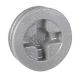 "CP5050S - 1/2"" WP Gry Closure Plug - Hubbell--Raco"