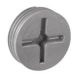 "CP5075S - 3/4"" WP Gry Closure Plug - Hubbell--Raco"