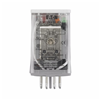 D3PF2AA - DPDT Full-Featured Relay; 12A; 120VAC; 8-Pin Octal - Eaton Corp
