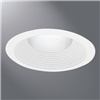 "ERT713WHTTS - 6"" TRM Full WHT Baffle and Torsion Springs - Eaton Lighting"