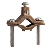 "G1SDB - 1/2-1"" Direct Burial Bronze Ground Clamp - Nsi Industries"