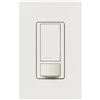 MS0PS6M2DVWH - 6A 1P/3W Wall Sensor White - Lutron