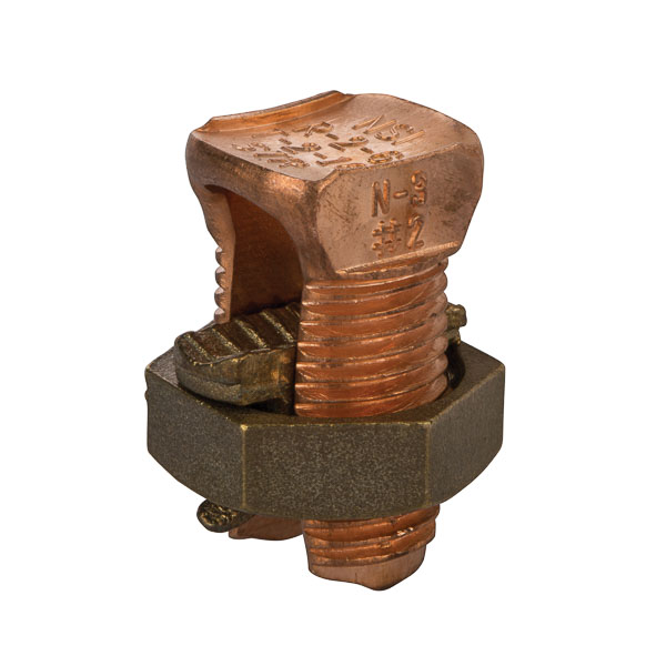 #8 STR Min//#4 STR Max For Equal Run And Tap #10 STR Min Tap With One Max Run Copper 0.81 Nut Width 1.24 Length Panduit SBCT3-C Split Nut Tin-Plated 0.58 Head Width Copper and Aluminum Code Conductor