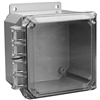 NC88L - 8X8 Hinged Clear Cover - Thomas & Betts
