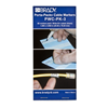 "PWCPK3 - Wire Marker, 1"" W - Brady Worldwide, Inc."