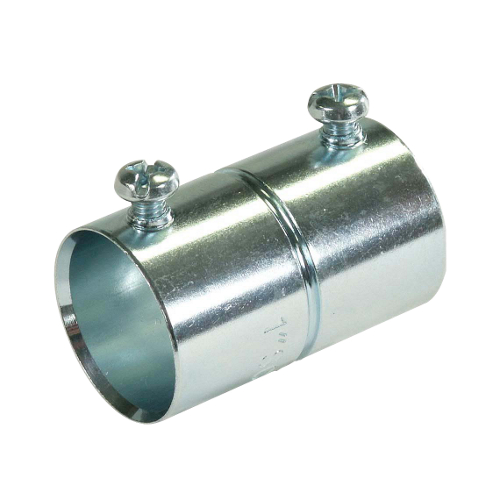 Crouse-Hinds 461 Zinc Plated Steel EMT Set Screw Coupling 3//4 Inch