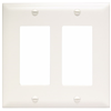 TP262W - 2G Decor Plate - Pass & Seymour/Legrand