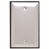 WPB1 - 1G Blank Aluminum WP Cover - Pass & Seymour/Legrand
