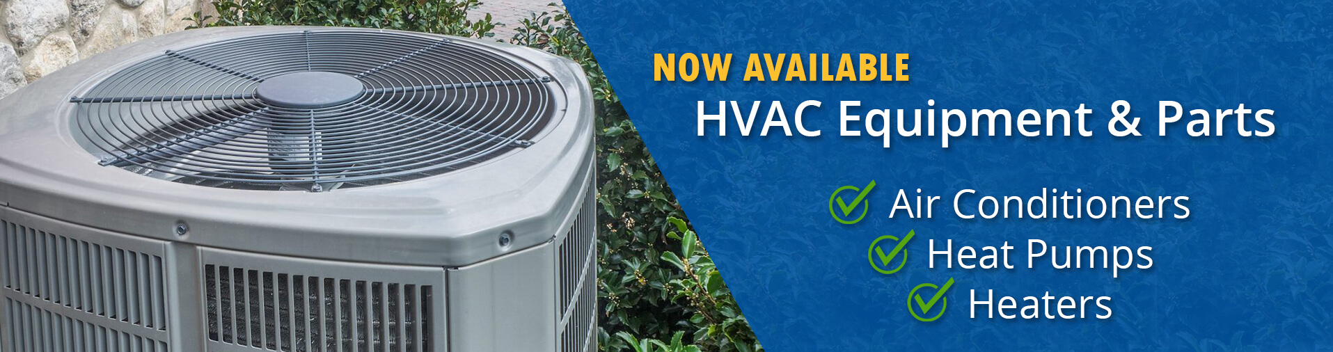 HVAC Air Conditioning and Heater Sales