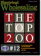 EES moves into the Top 12 ranked distributor in the nation, at #12 according to Electrical Wholesaling