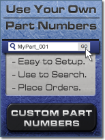Load and Use Your Own Part Numbers with ElliottElectric.com's Custom Part Numbers Feature