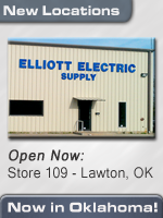 Elliott Electric Supply Now Open for business in Oklahoma!