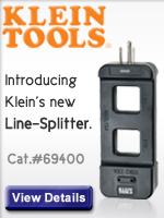 Klein Tool of the month: the Line Splitter at Elliott Electric, only $17.99!