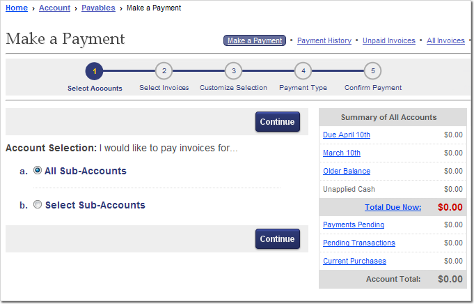 how to make a voluntary help account payment