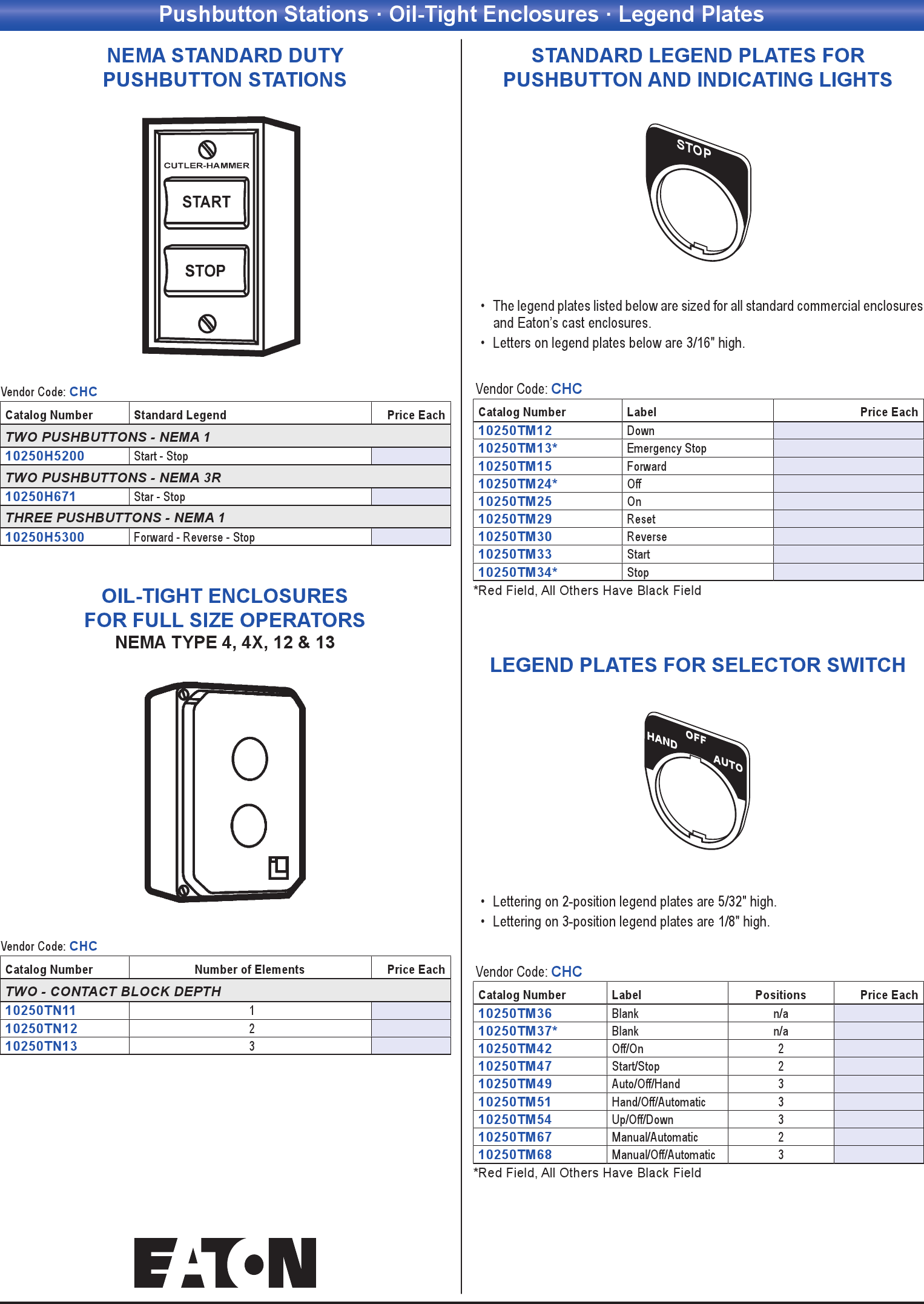 Pushbutton Stations Oil Tight Enclosures Legend Plates Wiring Trough Nema 3r Add Item To Cart