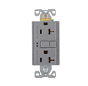 SGF20GY - Gfci Self Test Duplex 20A 125V Gy - Cooper Wiring Devices
