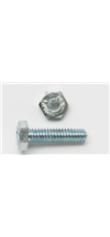 38X12HBG2ZJ - 3/8-16 X 1/2 Hex Bolt Grade 2 Fully Threaded Zinc - Peco Fasteners, Inc.