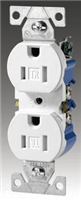 270W - 15A 125V Res Duplex Receptacle - Cooper Wiring Devices